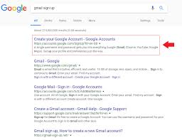 Gmail Sign Up Gmail Sign Up How To Create A New Gmail Account
