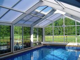 Outdoor Swimming Pool by Inspiring Examples Of Solariums Sun Rooms And Indoor Swimming