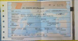Tiket Kereta Api Tiket Kereta Api Musafir Kehidupan