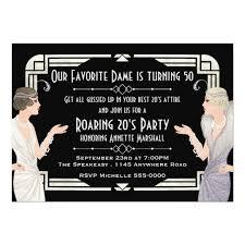 1920s invitations u0026 announcements zazzle