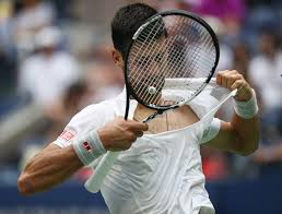 us open 2016 novak djokovic does impression by