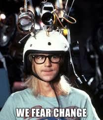 Chagne Meme - we fear change reaction images know your meme