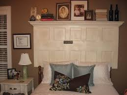Headboard From Old Door by 34 Best Old Doors Used As Headboards Images On Pinterest