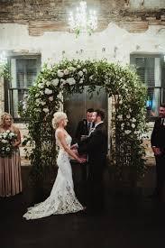 wedding arch greenery journal studio fleurette cities wedding florist
