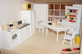 Dollhouse Furniture Kitchen Gcm Turnings U0026 Craft Melissa U0026 Doug Doll House Makeover Part 1