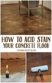 25 best ideas about painted concrete floors on pinterest paint