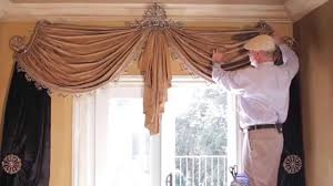 Swag Curtains For Living Room How To Make Swag Curtains Kitchen Swags And Valances Country