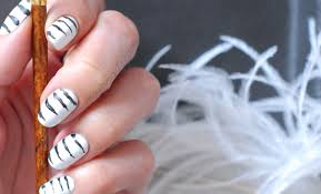 abstract zebra nails easy u0026 fun nail art seasonails
