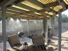 Misters For Patio by In Case You Mist It Installing A Cooling Mist System U2014 Az Diy Guy
