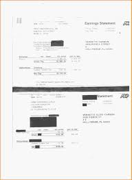 6 adp pay stubs template letter template word