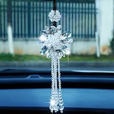 aliexpress buy fashion car rearview mirror ornaments