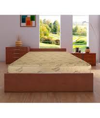 kurl on relish 6 inch king size spring mattress 78x72x6 buy kurl