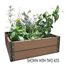 Build Your Own Home Kit by Garden Raised Bed Kit Top Deep Root Cedar Raised Beds U With