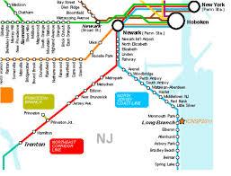 Map Of Newark Nj Best Of Nj Train Map Cashin60seconds Info
