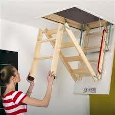 fakro lwk komfort timber loft ladder 600mm x 1200mm