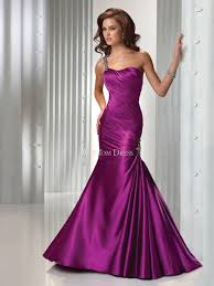 attractive satin gold sweetheart dropped waistline floor length