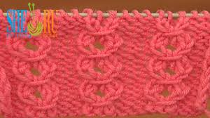 free knit stitch pattern tutorial 21 easy to knit stitches for