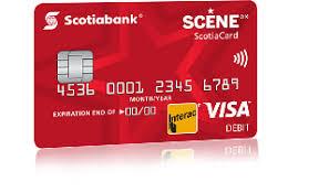 debit card debit cards scotiabank