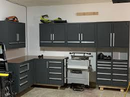 kitchen cabinets workshop custom corner cabinets in my garage workshop that i built