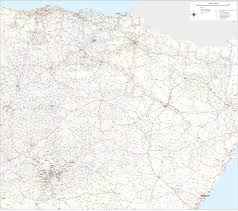 Northern Spain Map by Vectorized Maps Digital Maps Increase Search Engine Traffic