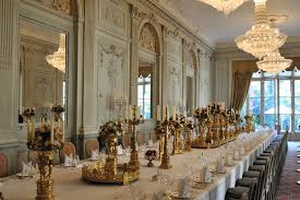 rococo interior hôtel de charost salle à manger state dining