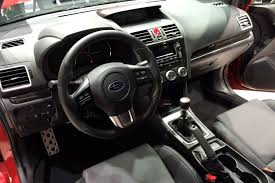 subaru wrx interior 2017 2015 subaru wrx world debut los angeles auto show photo u0026 image