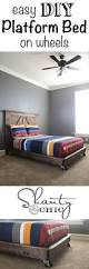 Easy Diy Platform Bed Frame by 138 Best Diy Beds Images On Pinterest Diy Platform Bed Room And