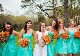 please help need a bright teal aqua mint bridesmaid dress
