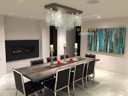 Glass Chandeliers For Dining Room 19 Best Modern Dining Chandelier Modern Lighting For Dining Room