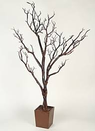 decorative tree branches 4 foot artificial manzanita tree in decorative pot boc select http