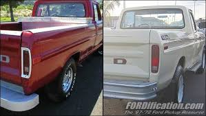 73 79 ford truck chassis comparison 67 72 vs 73 79 fordification com
