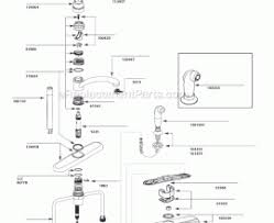 moen kitchen faucet parts name numbering moen kitchen faucets in