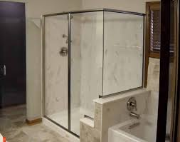 semi frameless shower precision glass u0026 shower