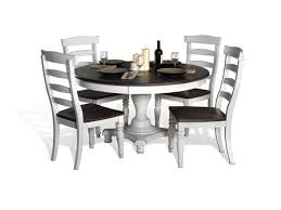 Kathy Ireland Dining Room Set Sunny Designs Dining Room Bourbon Round Dining Table And 4 Chairs