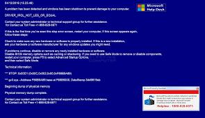 remove microsoft help desk tech support scam