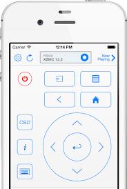 remote control for kodi and xbmc