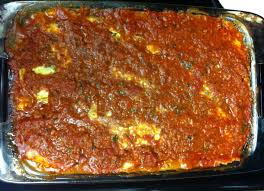 Meat Lasagna Recipe With Cottage Cheese by Meaty Lasagna With Eggplant Noodles 4hourginger