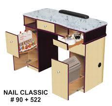 vnt nail supply classic nail station granite top salon