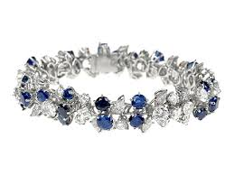 sapphire bracelet with diamonds images Diamond bracelet meister 20ct diamond bracelet london jpg