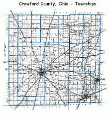 Ohio Road Map Crawford County Ohio Plat Book 19