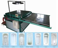 acrylic bathtub forming making thermoforming machine bathtub