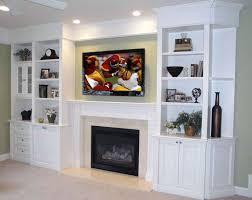 Bookshelf Around Fireplace Built In Shelves Around Tv Built In Shelving Tv Over Fireplace