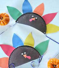8 adorable turkey crafts for