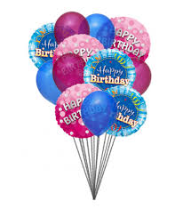 balloons gift bunch of lovely happy birthday balloons send this beautifull bunch