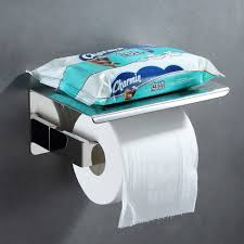 strong man toilet paper holder amazon com bathroom tissue holder with phone shelf angle simple