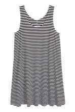 a line jersey dress white striped ladies h u0026m gb