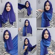 tutorial hijab pashmina kaos yang simple tutorial hijab simple pashmina 20 hijabyuk com