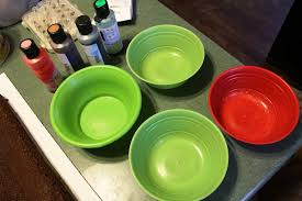 what two colors make green food coloring periodic tables