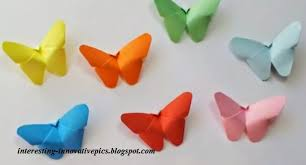 diy colorful paper butterfly craft for or decorations