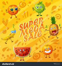 background for halloween menu bright orange background crazy funny fruit stock vector 635255330